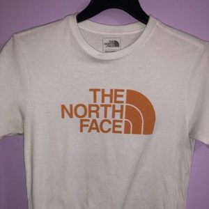 The North Face white t-shirt